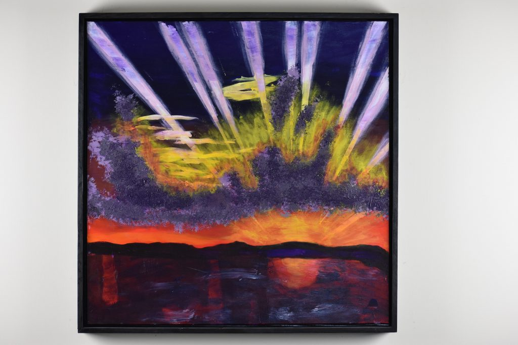 Donald Ryker Painting
