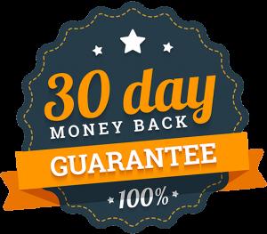 30 day money back guarantee icon