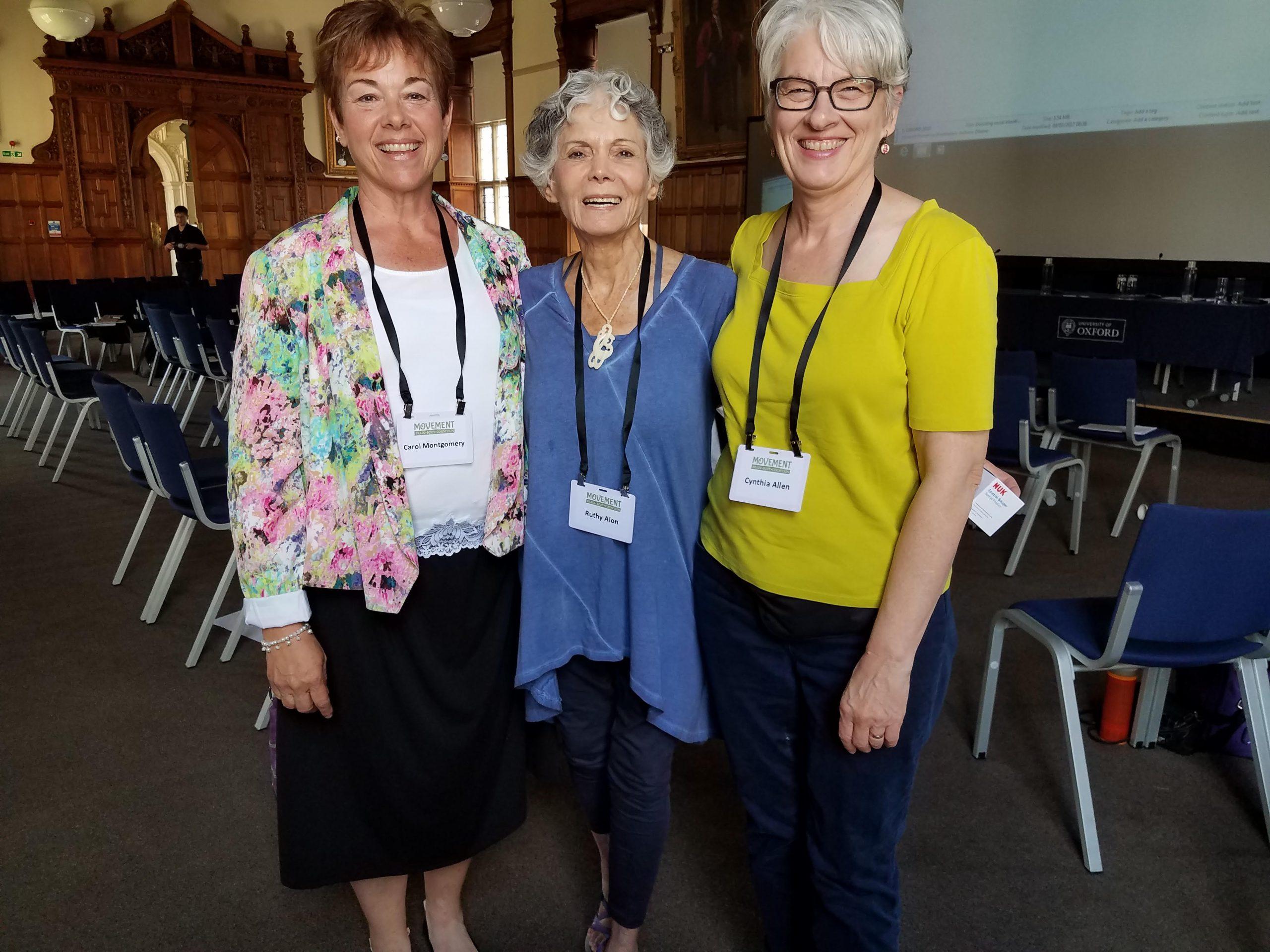 Carol Montgomery, Ruthy Alon, Cynthia Allen